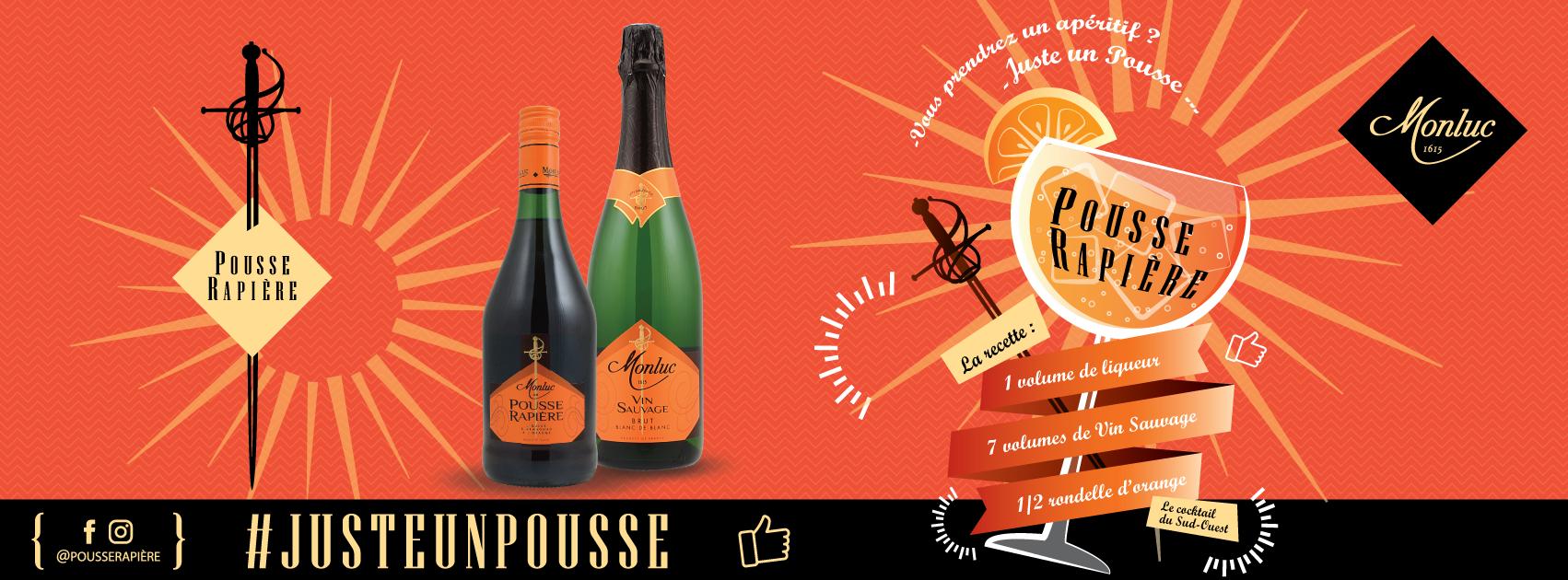 """Le Pousse Rapière """"Spritz Gascon"""", spritz à la française"""